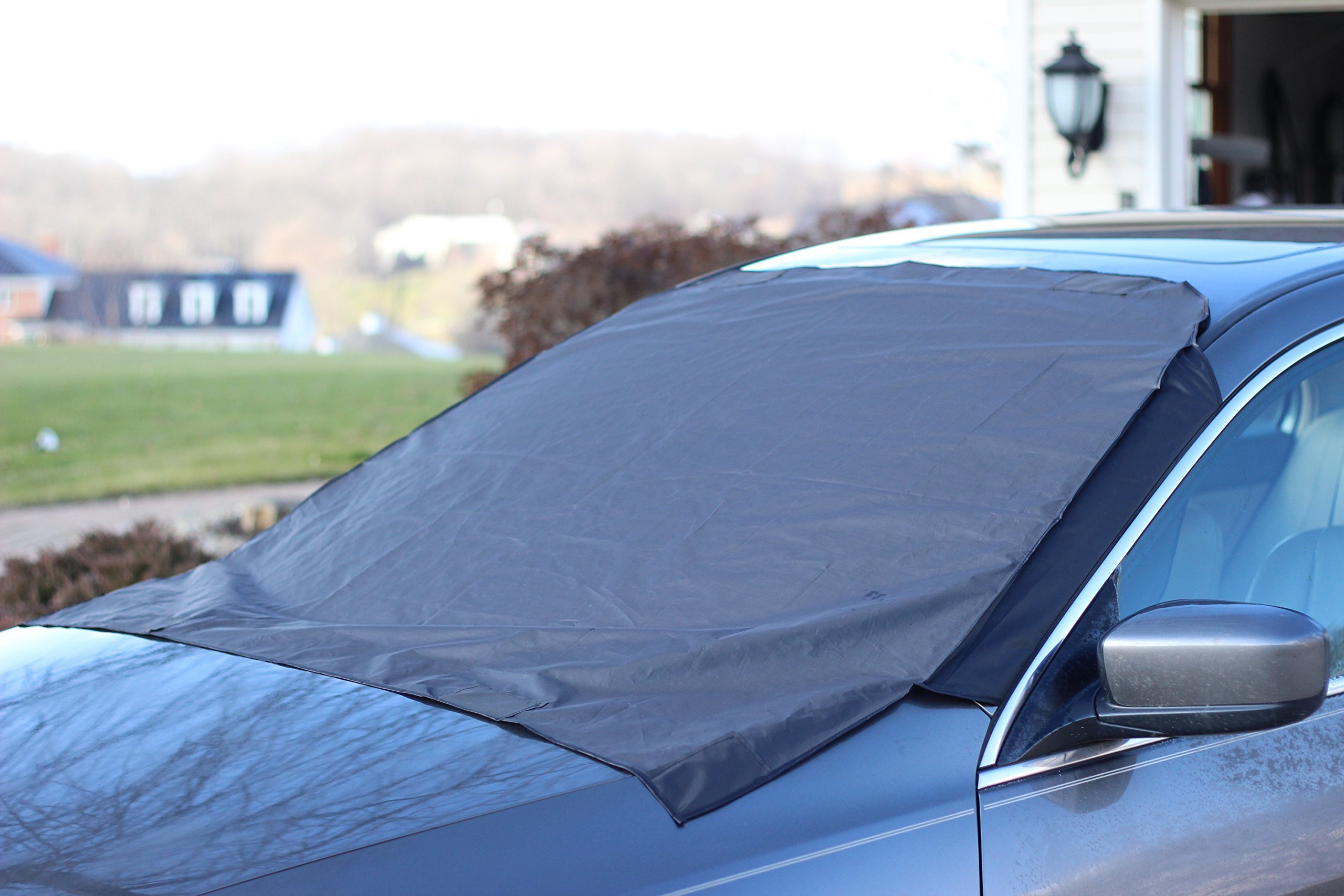 Get Quotations · Premium Windshield Snow Cover For All Vehicles, Covers  Wipers, Ice, Frost Guard,