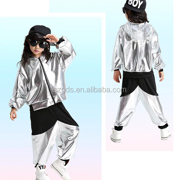 3d82b6a1c New Style Fashion Children Latin Dance Clothing Kids Girls Hip Hop ...