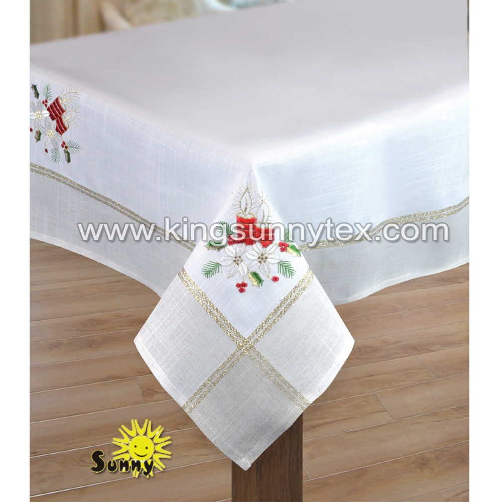 Tablecloth With Gold Thread, Tablecloth With Gold Thread Suppliers And  Manufacturers At Alibaba.com