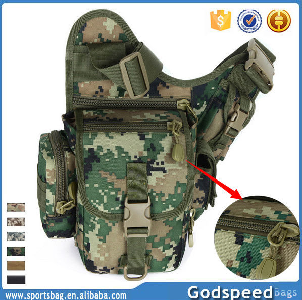 Tactical Shoulder Bag Waterproof Waist Bag Hiking Sling Bag - Buy ...
