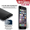 Ultra thin 0.26mm LCD Clear Front Tempered Glass Screen Protector Protective Film For iPhone 6
