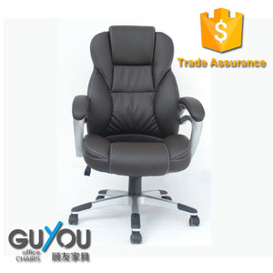 GUYOU PU PVC leather office Work swivel lift manager chair