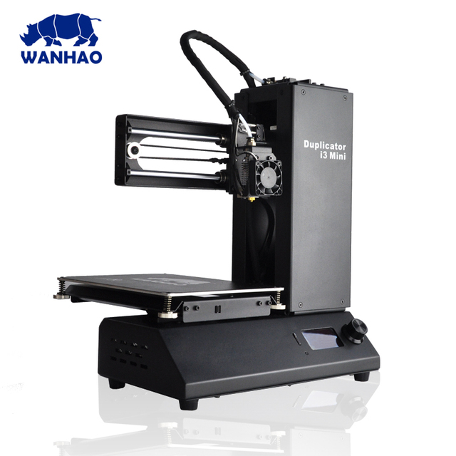 2018 New Wanhao Duplicator i3 Mini PLA home Desktop cheap 3d printer , Factory multi-function desktop mini 3D printer for sales