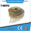 "1 1/4""(32mm) EG coated corrugated coil roofing nails"