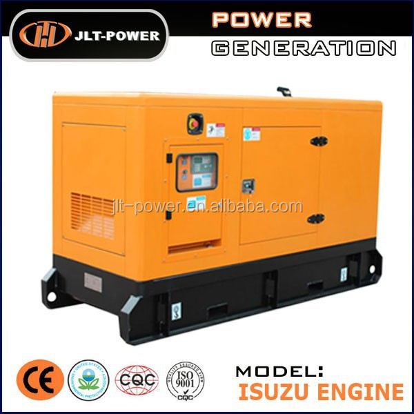 Soundproof water cooled system famous Japanese brand engine Diesel Generator
