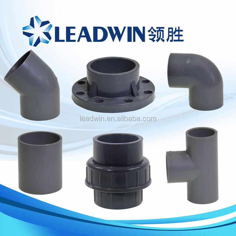 Types Of Pvc Plastic Pipe Fitting Buy Plastic Pipe