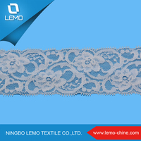 Raschel Knitted Corded Lace