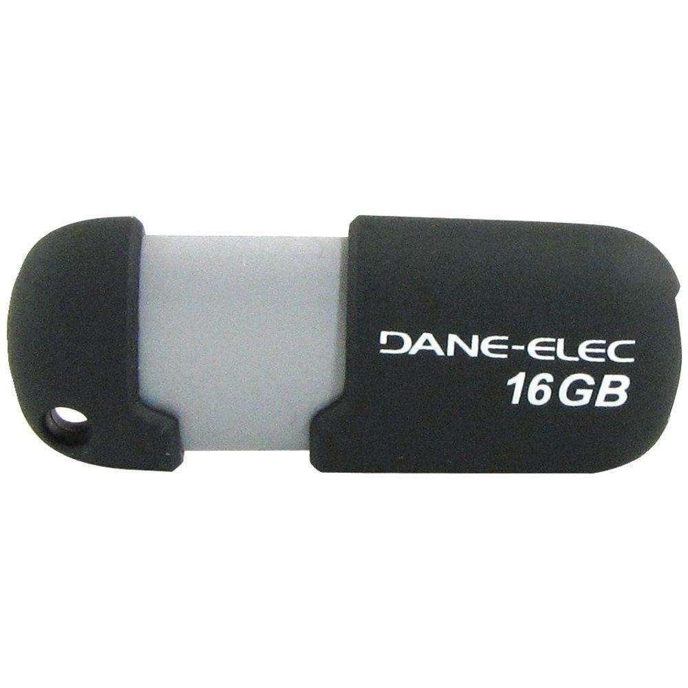 DANE-ELEC DA-ZMP-16G-CA-G2-R Capless USB Pen Drive (16GB; Gray) Consumer electronic