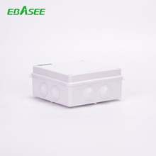 IP65 ABS Plastik Pvc Penutup <span class=keywords><strong>Kotak</strong></span> Panel Kontrol Elektronik <span class=keywords><strong>Kotak</strong></span> Tahan Air Listrik JUNCTION BOX