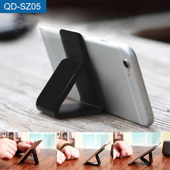 Custom Non Slip Kitchen Mobile Mount Stand Wall Sticky Fixate Gel Pad Adhesive Pu Material