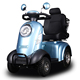 4 wheel electric scooter food delivery motorcycle bicycle manufacturer