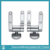 zinc alloy chrome finish soft closing toilet seat hinge
