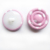 double layer wire shank back fabric covered buttons