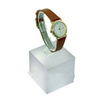 Factory custom high transparent acrylic c ring for watch,watch clip,c ring watch holder