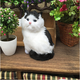plush furry cat Charming smile japanese Cat Hanging Ornament