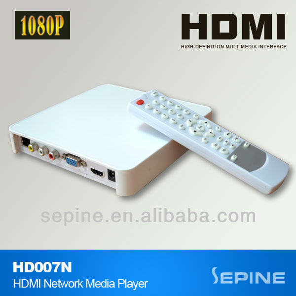 New,HDD Network Media Player 1080P