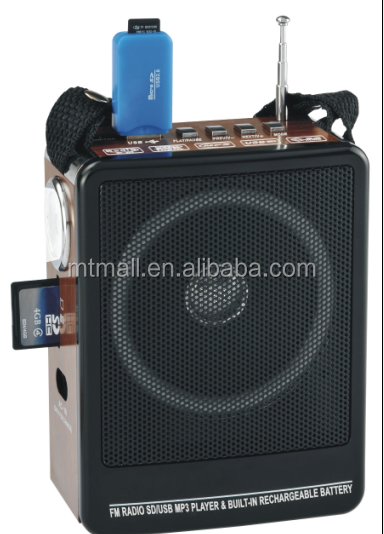 music player, mini MP3 FM radio, protable digital speaker