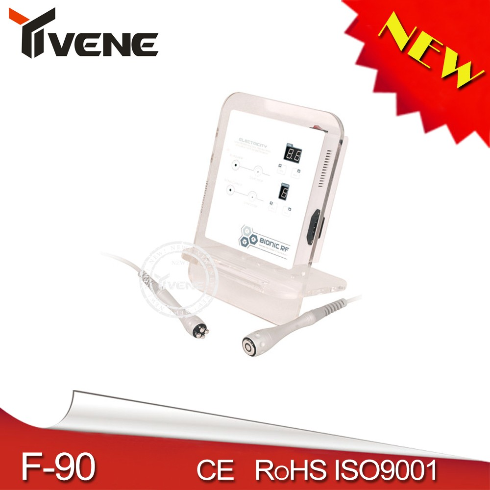 Bipolar RF Skin tightening microcurrent face toning and lifting machine