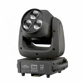 2019 Hot 3*40w RGBW 4in1  LED  BEE-EYE Beam Zoom Wash Moving Head Light