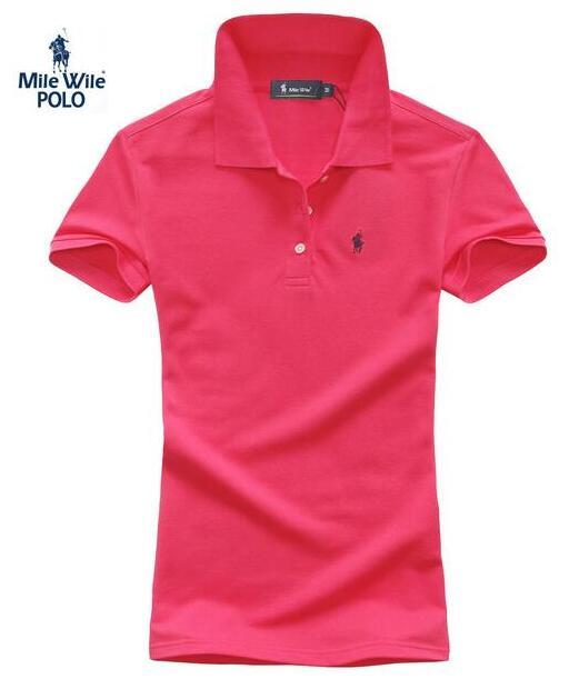 2015 новый летний мода женщин брендов-поло рубашки с коротким рукавом лацкане небольшой лошадь несколько спорт сплошной camisa feminina