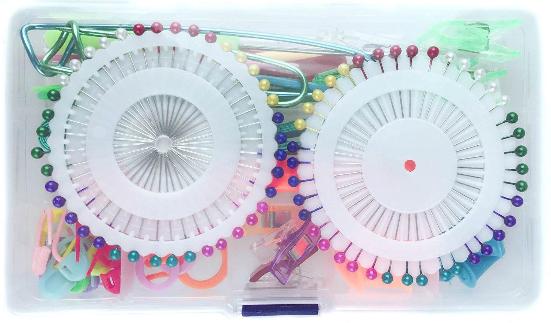 Athena YY Circular Knitting Needles Set Kit Tool Bamboo 18 Sizes 80cm (2.0mm-12.0mm) with Colored Plastic Tube mit Cute Knitting Bag