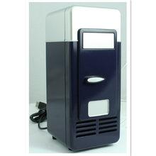Автомобильный мини-холодильник с USB, многофункциональный домашний дорожный автомобильный холодильник, коробка двойного назначения, подогр...(Китай)