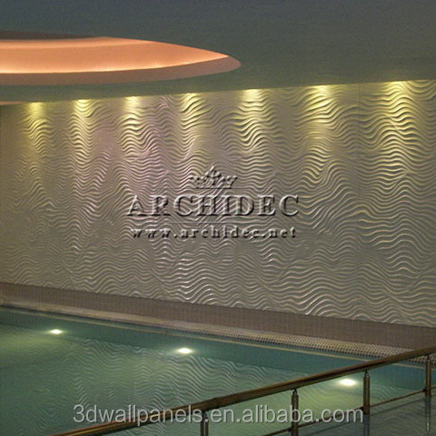 swimming pool oceano 3d wall panels made in MDF best price and best quality