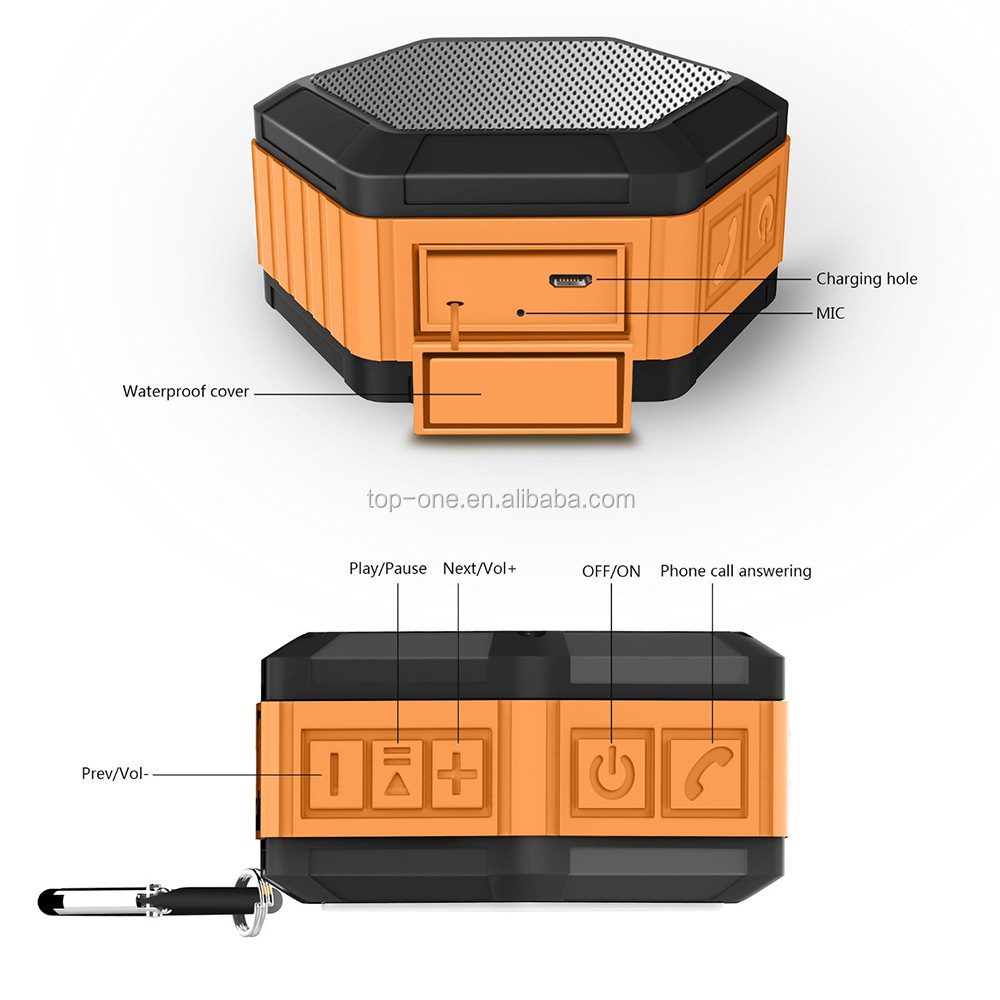 Super Bass Bluetooth MP3 Speaker Inovatif Innova Portable Outdoor Wireless Tahan Air Speaker