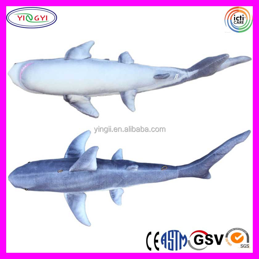C240 Realistic Giant Stuffed Marine Animals Shark Toys Soft Plush Great Soft Toys Shark