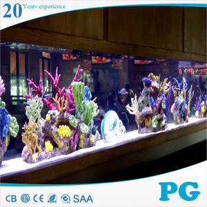 PG Custom Fish Tank Acrylic Waterfall Aquarium