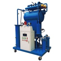 Five Micron Dielectric Oil Filtering Machine Unqualified Transformer Oil Flushing