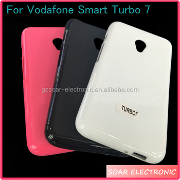 [soar]2017 New Products Soft Tpu Protective Back Cover Colorful Gel Phone  Case For Vodafone Smart Turbo 7 Vfd500 - Buy Soft Tpu Protective Back Cover