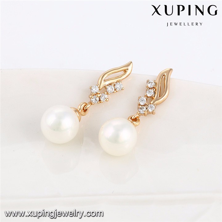 64035 Xuping Fashion wholesale dubai gold plated pearl jewelry sets
