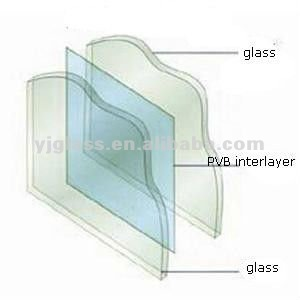 Toughened laminated glass For Balustrade Tempered Laminated Price, Heat Soaked tempered Glass