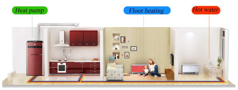 merkezi klima soğutma sistemi duvara monte fan coil sarma makinesi ünitesi