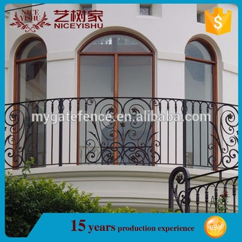 2016 Simple Modern Balcony Railing Designs Iron Grill