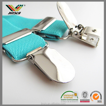 High quality red green wholesale braces fashion suspenders men fashion