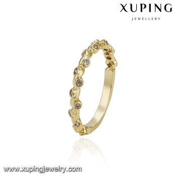 Xuping Latest Wedding Ring Designs Gold Ring Designs For