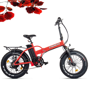 20 inch folding fat electric bike with 500W motor e bike with fat tyres