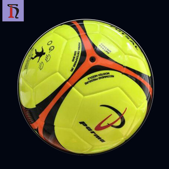 8c24297e14 wholesale thermal bonded TPU no stitch laminated ball size 4 low bounce wholesale  futsal ball for