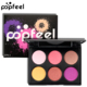High pigment no brand private label bulk 6 color eyeshadow palette makeup