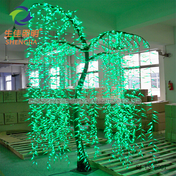 2016 artificial outdoor led willow tree sculptures nativity scene sale