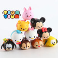 10 pcs Tsum Tsum mini lot Minnie mouse Mickey mouse Winnie Dumbo figures PVC dolls 4cm