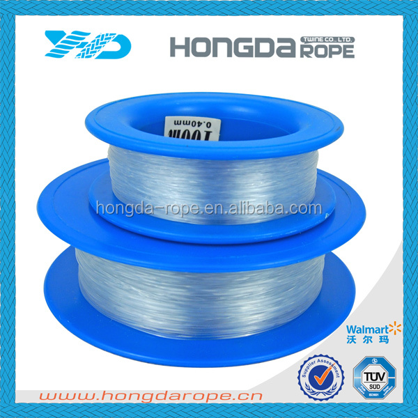 Wholesale High Strength monofilament nylon 0.4mm -1.2mm fishing line