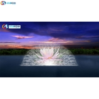 FREE DESIGN Laser water screen projector water curtain movie for Outdoor show