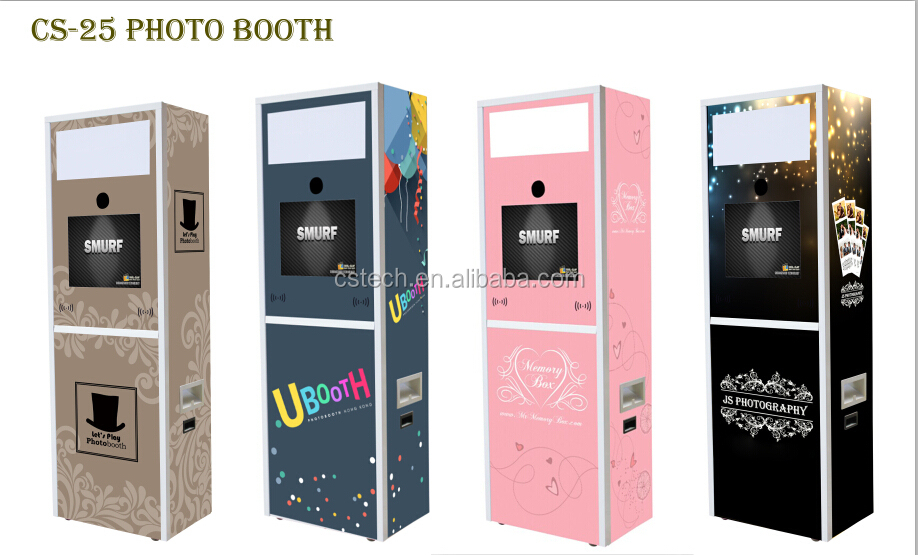 Custom made digital photo booth machine buy digital photo booth smart software function make template by yourself and add your logo or contact details solutioingenieria Image collections