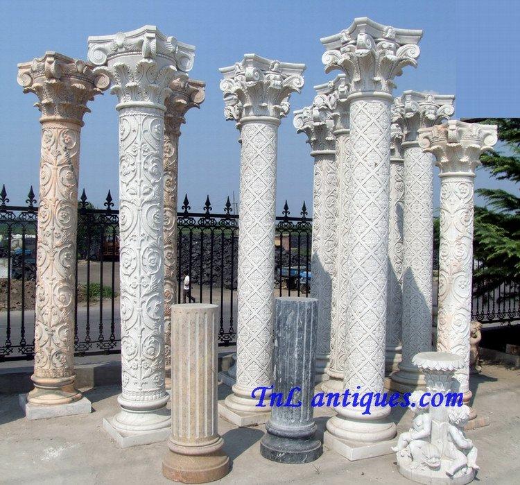 colonne de marbre colonne de pierre pilier id de produit 52398186. Black Bedroom Furniture Sets. Home Design Ideas
