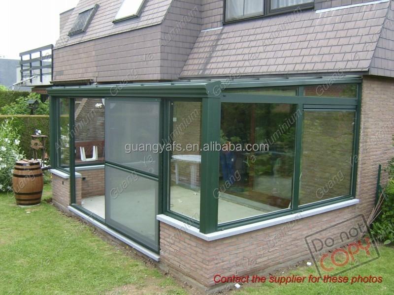 High quality waterproof glass aluminium veranda buy veranda tentaluminium sunroomveranda aluminum railing product on alibaba com