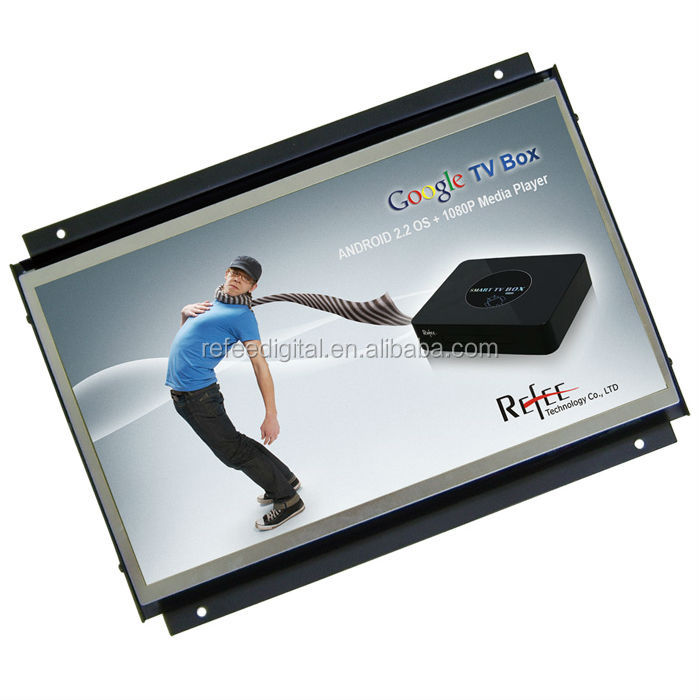 7-15.6 inch Wall Mounted Open Frame LCD Display