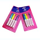 Mini Size Water-based & Non-toxic Ink Permanent Fabric Markers For Coloring On Cloth Shoes